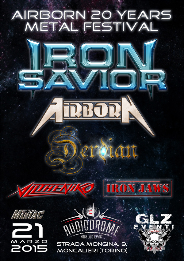 Airborn 20 years metal festival